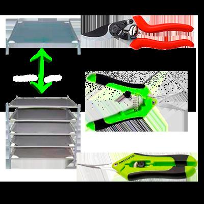 Basic Kit de poda y secado