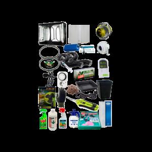 Kit armario de cultivo extra 240x240x200